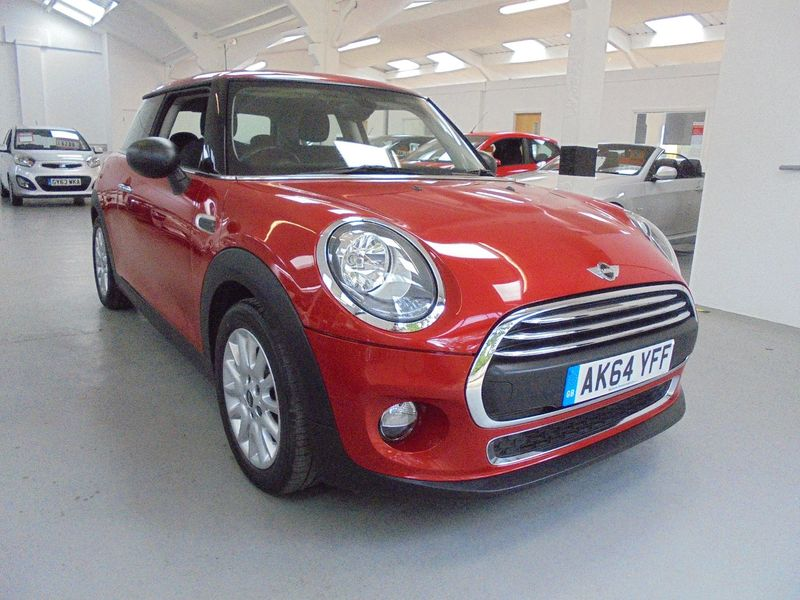 View MINI HATCH ONE 1.2 Petrol ONE 6 Speed Manual 3 Door Hatchback