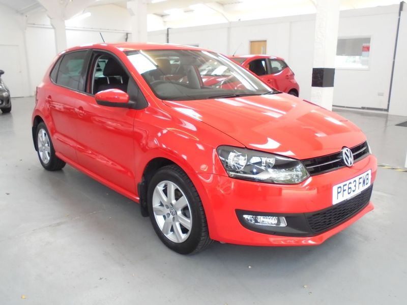 View VOLKSWAGEN POLO 1.2 Petrol MATCH EDITION 5 Door 5 Speed Manual