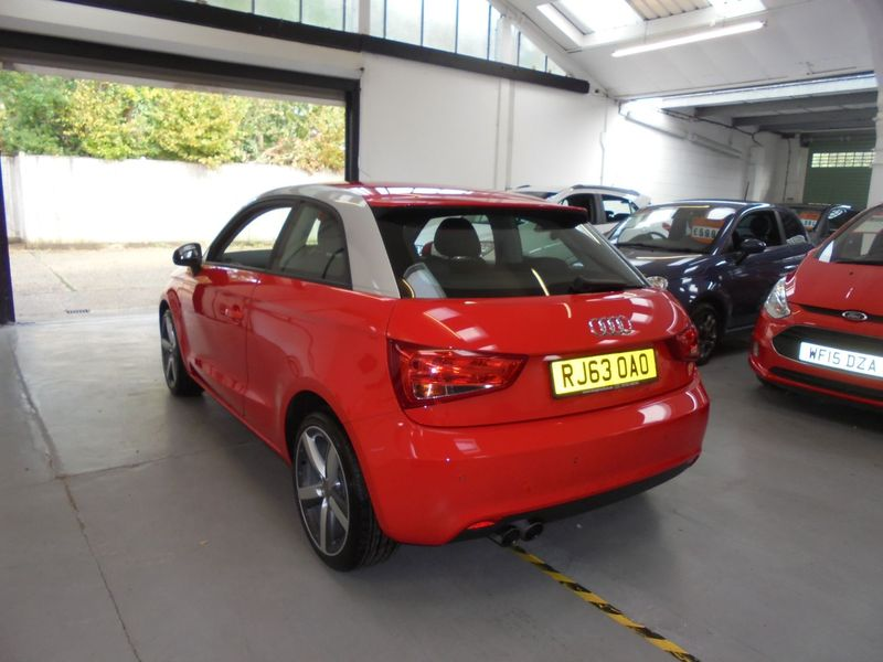 View AUDI A1 1.4 TFSI SPORT AUTOMATIC 3 DOOR - BLUETOOTH - BOSE SOUND SYSTEM