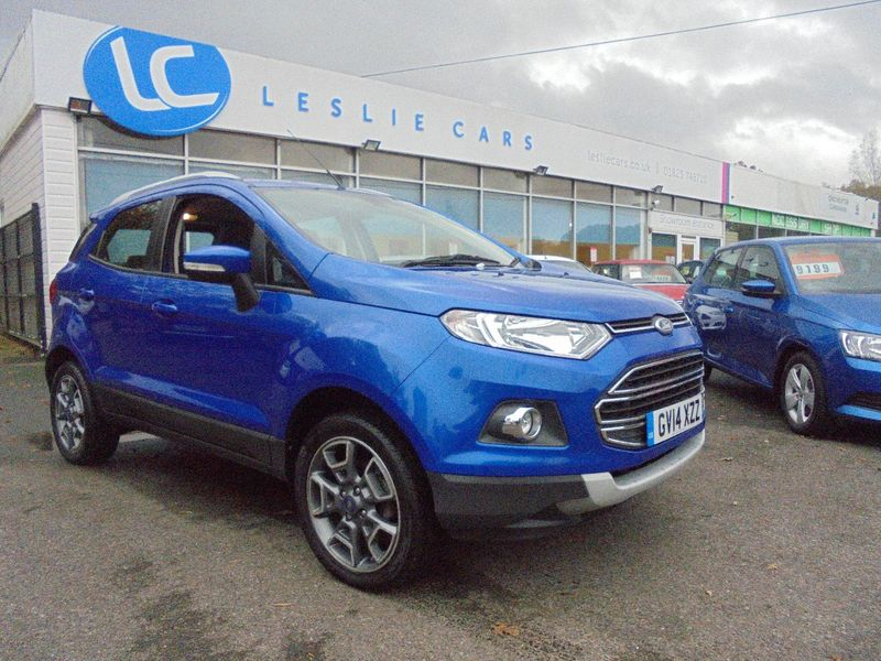View FORD ECOSPORT 1.0 PETROL TITANIUM X-PACK LEATHER