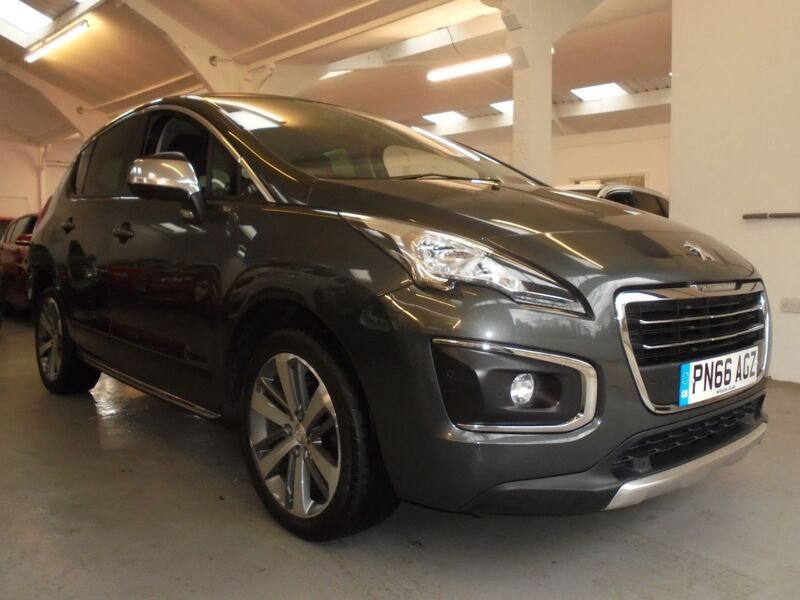 View PEUGEOT 3008 1.6 BLUE HDI NAV ALLURE Six Speed Automatic